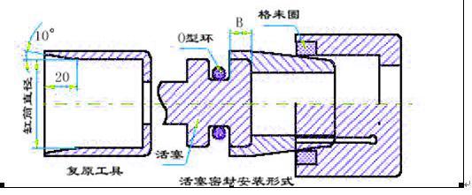 液压缸密封件的安装方法安装图与说明图片