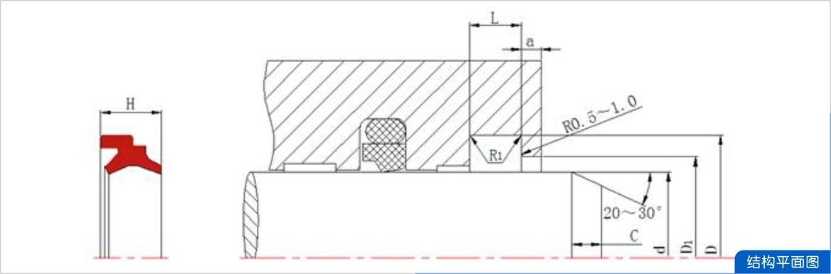 结构设计图-马鞍型防尘dam