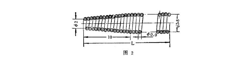骨架油封弹簧_J形油封的环状自紧弹簧结构及尺寸规格表(含表)